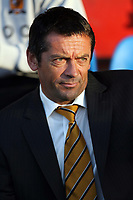 Photo: Rich Eaton.<br /> <br /> Crewe Alexandra v Hull City. Carling Cup. 15/08/2007. Hull City manager Phil Brown pictured before kick off.