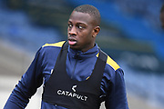 Shrewsbury Town midfielder Ousmane Fane (20) during the EFL Sky Bet League 1 match between Oxford United and Shrewsbury Town at the Kassam Stadium, Oxford, England on 7 December 2019.