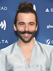 March 28, 2019 - Beverly Hills, California, U.S. - 28 March 2019 - Beverly Hills, California - Jonathan Van Ness. 30th Annual GLAAD Media Awards held at Beverly Hilton Hotel. Photo Credit: Birdie Thompson/AdMedia (Credit Image: © Birdie Thompson/AdMedia via ZUMA Wire)