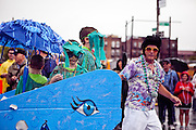 Images of Coney Island Mermaid Parade 2009.