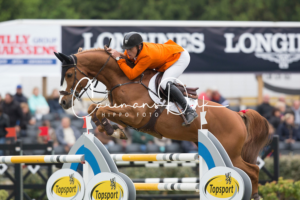 Pals Johnny (NED) - Vignet <br /> Furusiyya FEI Nations Cup<br /> Longines Spring Classic of Flanders<br /> CSIO5 Jumping Lummen 2014<br /> &copy; Dirk Caremans