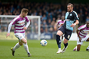 Wycombe Wanderers striker Paul Hayes (9) during the Sky Bet League 2 match between Wycombe Wanderers and Barnet at Adams Park, High Wycombe, England on 16 April 2016. Photo by Dennis Goodwin.