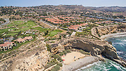 Rancho Palos Verdes Coastal Aerial Stock Photo
