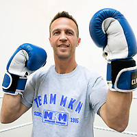Chris Millar pictured at Fair City ABC Boxing Club, Perth where a boxing night will be held as part of Chris Millar's Testimonial<br />Picture by Graeme Hart.<br />Copyright Perthshire Picture Agency<br />Tel: 01738 623350  Mobile: 07990 594431