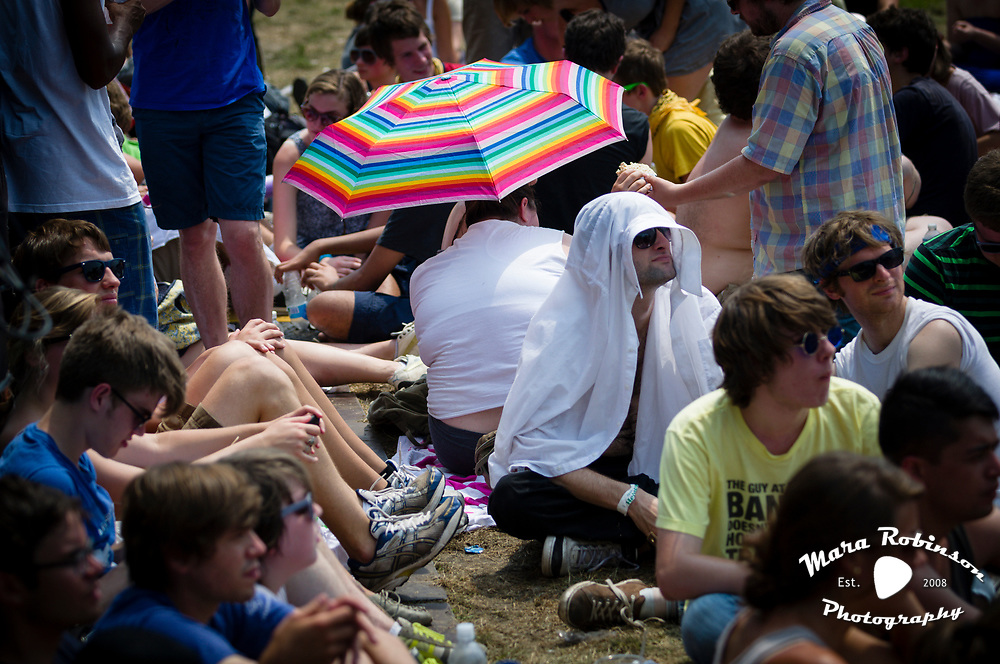 Crowd at Pitchfork Music Festival 2011 by Mara Robinson