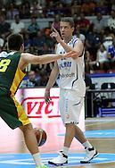 4.8.2014, Jäähalli, Helsinki, Finland.<br /> Koripallomaaottelu Suomi - Liettua / Basketball Friendly International match, Finland v Lithuania.<br /> Roope Ahonen - Finland