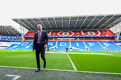 Burnley manager Sean Dyche walks off the pitch prior to kick off - Mandatory by-line: Ryan Hiscott/JMP - 30/09/2018 -  FOOTBALL - Cardiff City Stadium - Cardiff, Wales -  Cardiff City v Burnley - Premier League