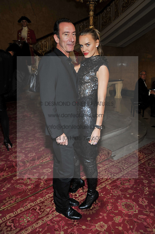 ROBERT HANSON and MARSHA MARKOVA at a party to celebrate 300 years of Tatler magazine held at Lancaster House, London on 14th October 2009.