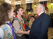 2017-12-08 Sec State Tillerson w scouts