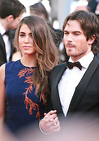Nikki Reed and Ian Somerhalder at the gala screening for the film Youth at the 68th Cannes Film Festival, Wednesday May 20th 2015, Cannes, France.