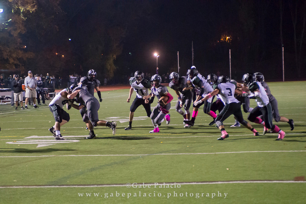 John Jay Varsity Football game vs. Yorktown on October 17, 2014. (photo by Gabe Palacio)