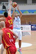 Trento 27 Luglio 2012 - Trentino Basket Cup Italia Montenegro<br /> Nella Foto: Pietro Aradori<br /> Foto Ciamillo
