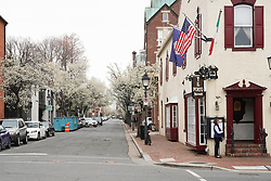 A view of Henry Street in Alexandria near Washington DC in the United States. From a series of travel photos in the United States. Photo date: Sunday, April 1, 2018. Photo credit should read: Richard Gray/EMPICS