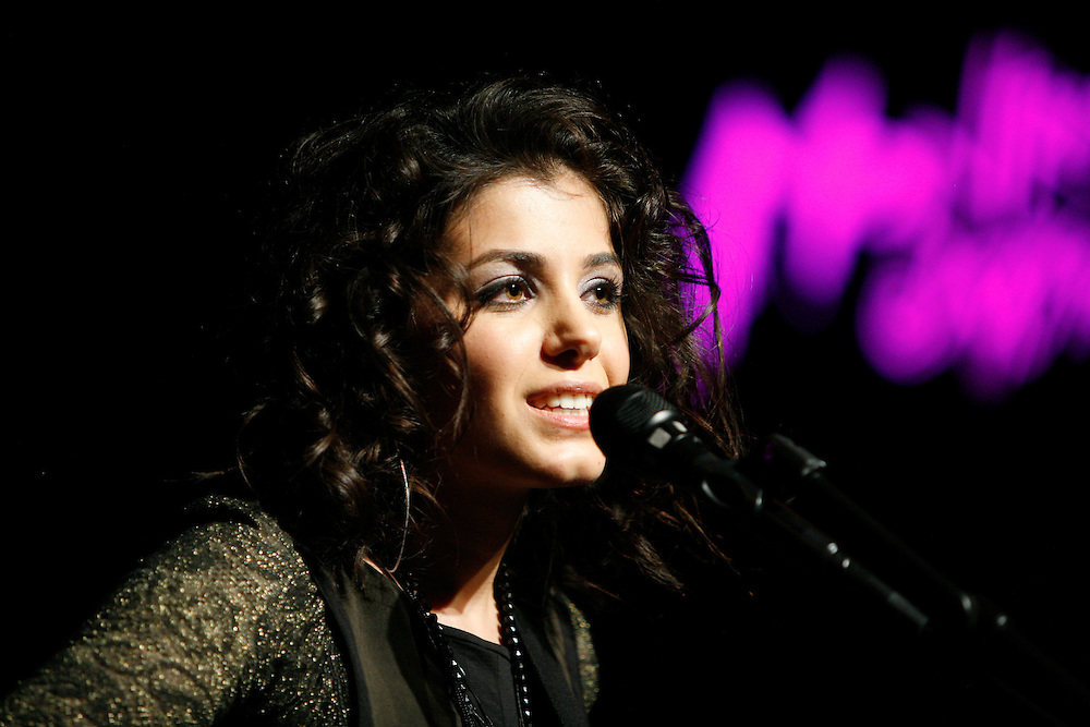 Katie Melua performing at the 42nd Montreux Jazz Festival, Switzerland.