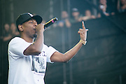 Kendrick Lamar performing during day 2 of Lollapalooza 2013 on August 3rd, 2013.