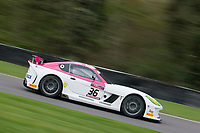 Autoaid/RCIB Insurance Racing #36 Ginetta G55 GT4 Mike Newbould/Michael Caine GT4 Pro/AM during Friday testing for the British GT Championship as part of the BRDC British F3/GT Championship Meeting at Oulton Park, Little Budworth, Cheshire, United Kingdom. April 14 2017. World Copyright Peter Taylor/PSP. Copy of publication required for printed pictures.  Every used picture is fee-liable. http://archive.petertaylor-photographic.co.uk