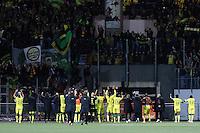 Joie Nantes - 20.12.2014 - Lorient / Nantes - 17eme journee de Ligue 1 -<br />Photo : Vincent Michel / Icon Sport