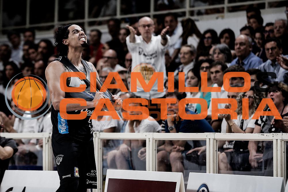 Gutierrez Jorge<br /> Dolomiti Energia Aquila Trento - EA7 Olimpia Milano<br /> Legabasket Serie A 2017/18<br /> Finali, Gara 04<br /> Trento, 11/05/2018<br /> Foto MarcoBrondi / Ciamillo-Castoria