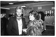 Sting and Bubbler, 1982© Copyright Photograph by Dafydd Jones 66 Stockwell Park Rd. London SW9 0DA Tel 020 7733 0108 www.dafjones.com
