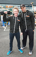 13/09/2015  Niall Breslin, Bessie, Hector o hEochagain at the official opening of Hector's the body works  a gym in Galway city.<br /> Photo:Andrew Downes, xposure<br /> The Body Works Galway is Galway&rsquo;s newest fitness studio. We are located adjacent to Parkmore in Briarhill Business park about a seven minute walk from the Parkmore Industrial Estate and Briarhill Shopping Centre.<br /> <br /> The fitness studio consists of a spinning studio at ground floor and a fitness studio at first floor where we provide classes in Kettlebells, Pilates, Yoga,TRX, Body Pump and Circuits . We have 16 spinning bikes (cardio machines) in our spinning studio.