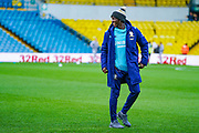 Leeds United forward Eddie Nketiah (14) arrives at the ground during the EFL Sky Bet Championship match between Leeds United and Cardiff City at Elland Road, Leeds, England on 14 December 2019.