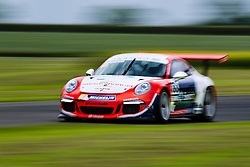 Dino Zamparelli wins Race 2 with the fastest lap | GT Marques | #88 Porsche 911 GT3 Cup | Porsche Carrera Cup GB | Race 2 - Mandatory byline: Rogan Thomson/JMP - 19/06/2016 - MOTORSPORT - Croft Circuit - Dalton-on-Tees, England - BTCC Meeting Day 2.