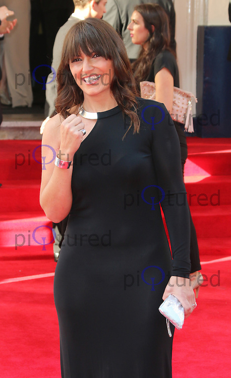 Davina McCall, Arqiva British Academy Television Awards - BAFTA, Theatre Royal Drury Lane, London UK, 18 May 2014, Photo by Richard Goldschmidt