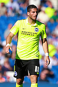 Tomer Hemed during the Pre-Season Friendly match between Brighton and Hove Albion and Sevilla at the American Express Community Stadium, Brighton and Hove, England on 2 August 2015. Photo by Bennett Dean.