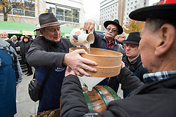 Braci from Malecnik during during martinovanje, St. Martin's Day Celebration on November 11, 2019 in Maribor, Slovenia. Photo by Milos Vujinovic / Sportida
