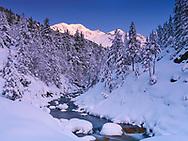 Picos de Culfreda y Río Zinqueta de la Pez, Valle de Chistau, Huesca