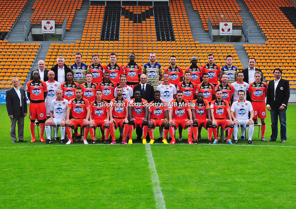 Equipe LAVAL - 19.09.2013 - Photo Officielle - Laval -<br /> Photo : Philippe Le Brech / Icon Sport