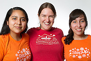 Mentor Nicole, Mentees Sharon, Angela