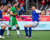 ANTWERP - BELFIUS EUROHOCKEY Championship. men  Ireland-Scotland (3-3). Kenny Bain (Sco) scored and celebrates the goal.  . WSP/ KOEN SUYK
