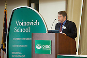 John Glazer, director of TechGROWTH Ohio opens the 3rd annual Appalachian Ohio Sate of the Region Conference May 20, 2014.  Photo by Ohio University / Jonathan Adams