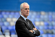 Ipswich Town manager Mick McCarthy during the Sky Bet Championship match between Birmingham City and Ipswich Town at St Andrews, Birmingham, England on 23 January 2016. Photo by Alan Franklin.