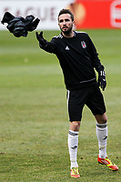 20120213: BRAGA, PORTUGAL - Czech  Tomas Sivok at the Besiktas JK training session before UEFA Europe League match against SC Braga.<br /> PHOTO: CITYFILES