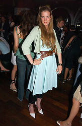 TESSA WHALLEY at a party hosted by Allegra Hicks and Melissa Del Bono to celebrate the opening of Volstead, Swallow Street, London W1 on 4th May 2006.<br /><br />NON EXCLUSIVE - WORLD RIGHTS