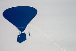 11.02.2015, Zell am See - Kaprun, AUT, BalloonAlps, im Bild SChatten eines Heissluftballones am Boden // BalloonAlps, The Alps Crossing Event balloonalps is Austria's international Winter balloon week in front of the backdrop of the Hohe Tauern, Zell am See Kaprun on 2015/02/11, . EXPA Pictures © 2014, PhotoCredit: EXPA/ JFK