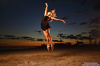 Dance As Art  New York City Photography Coney Island Beach with dancer Aly McKenzie