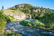 The Stillwater River at Beehive Montana