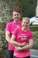 17/05/2015 Ros na Run Actor, Garrett Phillips and his wife, Dr Carmel Malone, a breast cancer consultant surgeon & breast cancer specialist have been busy training over the last few months and are excited for the upcoming London Marathon on Sunday, 26 Aprilin aid of The National Breast Cancer Research Institute (NBCRI)  to raise awareness and funds for vital breast cancer research at NUI, Galway . Photo: Andrews Downes
