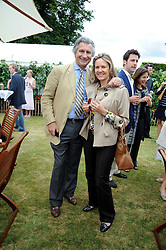 ARNAUD & CARLA BAMBERGER he is MD of Cartier at the Cartier Style et Luxe, the Goodwood Festival of Speed, West Sussex on 13th July 2008.<br /> <br /> NON EXCLUSIVE - WORLD RIGHTS