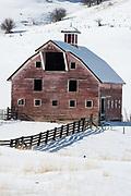 Old barn, Wallowa County, Oregon.