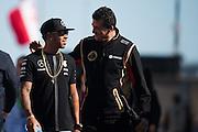 June 5-7, 2015: Canadian Grand Prix: Lewis Hamilton (GBR), Mercedes and Gerard Lopez