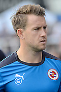 Simon Cox during the Sky Bet Championship match between Birmingham City and Reading at St Andrews, Birmingham, England on 8 August 2015. Photo by Alan Franklin.