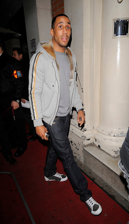 14.DECEMBER.2010.LONDON<br /> <br /> JAMES DeGALE ARRIVING AT FUNKY BUDDAH NIGHT CLUB IN MAYFAIR FOR KAYLA COLLINS'S CHRISTMAS PARTY.<br /> <br /> BYLINE: EDBIMAGEARCHIVE.COM<br /> <br /> *THIS IMAGE IS STRICTLY FOR UK NEWSPAPERS AND MAGAZINES ONLY*<br /> *FOR WORLD WIDE SALES AND WEB USE PLEASE CONTACT EDBIMAGEARCHIVE - 0208 954 5968*