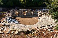 Albanie, province de Vlore, site archeologique de Butrint, Patrimoine mondial de l'Unesco // Albania, Vlore province, Butrint, Ruins of the greek city, UNESCO World Heritage Site