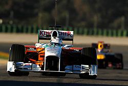 Motorsports / Formula 1: World Championship 2011, Test Valencia, Adrain Sutil ( GER, Force India )