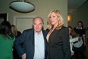 MARC RICH; DARA SOWELL;, Dinner hosted by Denise Estfandi, for the Council of the Serpentine Gallery to celebrate the opening of  Nancy Spero at the Serpentine Gallery. London.  Upper Brook house. 10a upper brook st.1 March 2011. -DO NOT ARCHIVE-© Copyright Photograph by Dafydd Jones. 248 Clapham Rd. London SW9 0PZ. Tel 0207 820 0771. www.dafjones.com.
