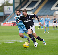Dundee&rsquo;s Scott Allan goes past Bolton Wanderers&rsquo; Jem Karacan - Dundee v Bolton Wanderers pre-seson friendly at Dens Park, Dundee, Photo: David Young<br /> <br />  - &copy; David Young - www.davidyoungphoto.co.uk - email: davidyoungphoto@gmail.com